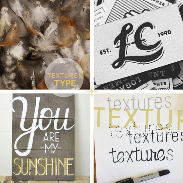 Images: (row 1) TÉLIO Style  33659-02, Embossed business cards, Graphic Exchange, (row 2) Painted Sign, Life is Beautiful,  Textures font options.