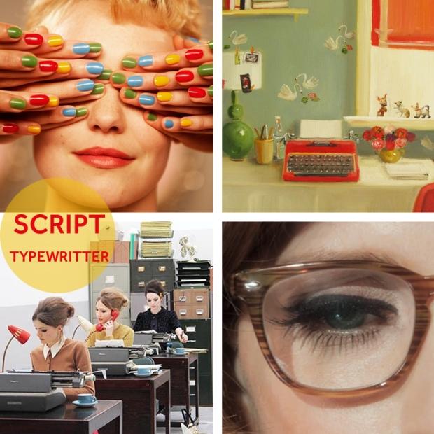 Script Typewritter Mood