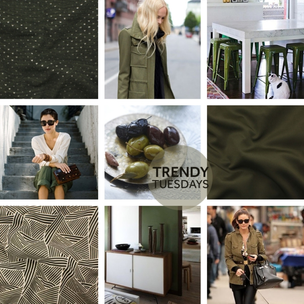 TRENDY TUESDAY ARMY GREEN