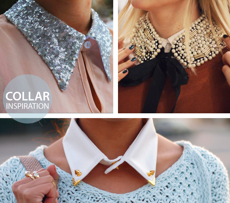 how to wear a detachable collar