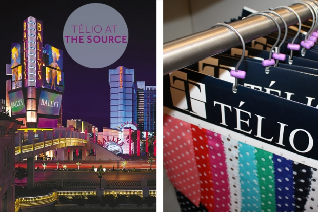 Bally's Hotel and Casino; Carefree Las Vegas, TÉLIO hangers; photo credit: Katelyn Bishop.