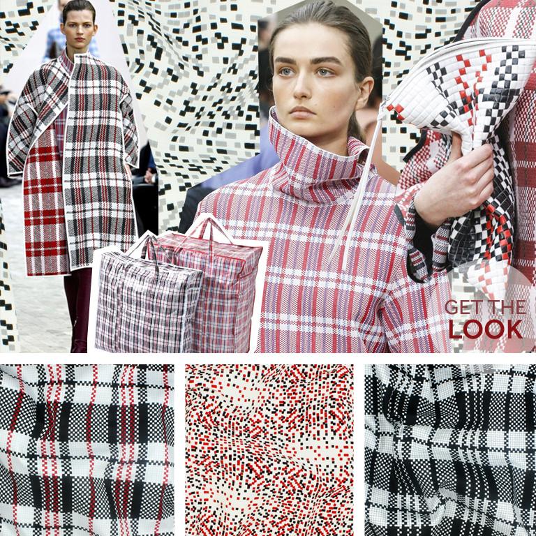 Get the look-celine tartan