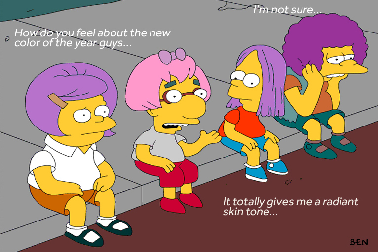 the-simpsons-discuss-radiant-orchid-color-of-the-year