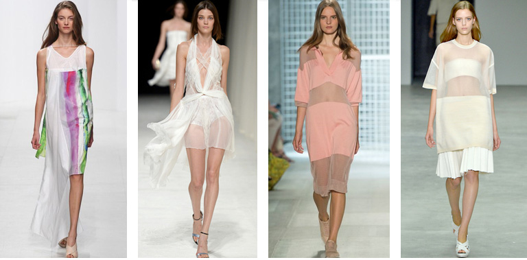 3 trends spring-sheer Runway