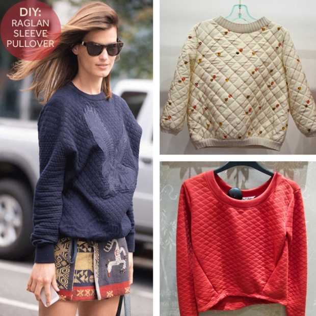 {Image 1} Blue Pullover;  Dream Style Paper, {Image 2} Ivory Pullover;    {Image 3} Red Pullover; Oemoda