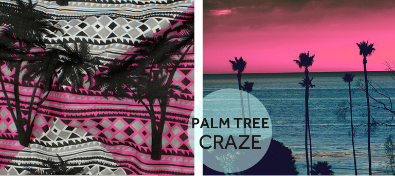 PALM-TREE-TREND-FABRIC-PRINT-BLUE-PINK-BLACK-SUNSET-TELIO