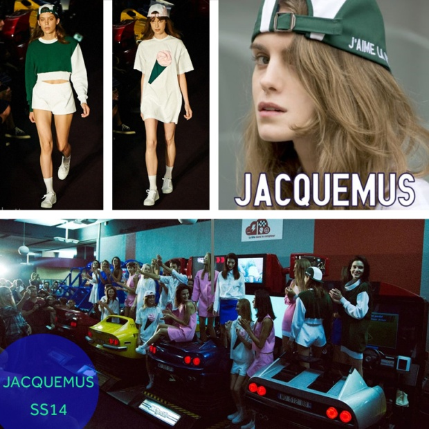 Photo 1: Jacquemus runway (2); Eclectic Society; Jacquemus cap x Larose Paris; Better times; Jacquemus arcade fashion show; Opening ceremony