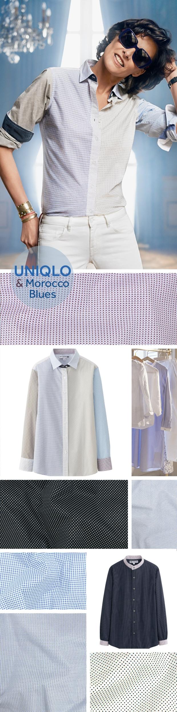 uniqlo_ines_de_la_fressange_poplin_shirt_patchwork_telio_mococco_blues_2