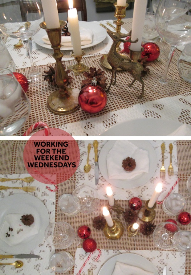 Working for the weekend wednesdays textures diy holiday placemats solutioingenieria Image collections