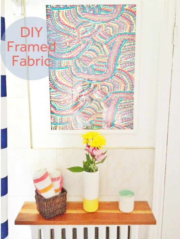 diy-framed-fabric