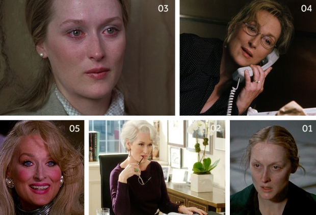 Meryl Streep Performances