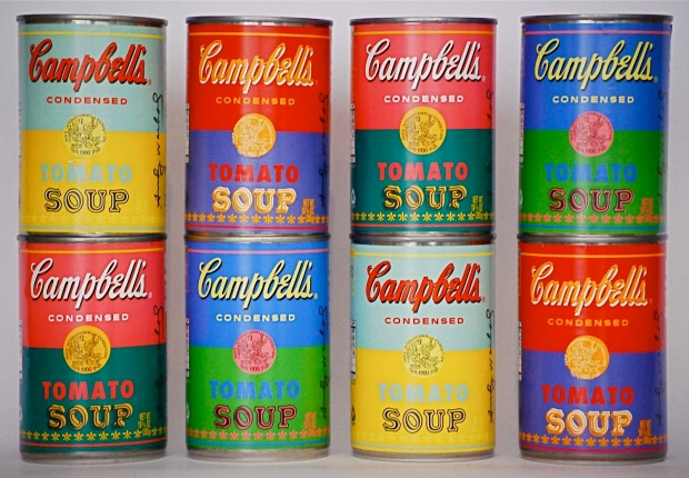 Campbell's Soup 50th Andy Warhol Anniversary