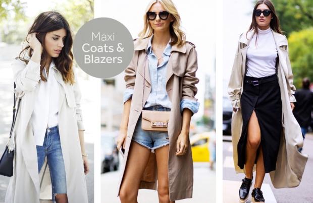 Maxi Coats and Blazers