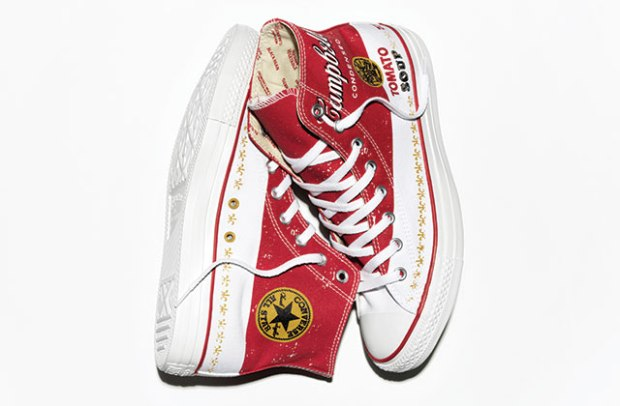 Andy Warhol Campbell's Soup Can Converse