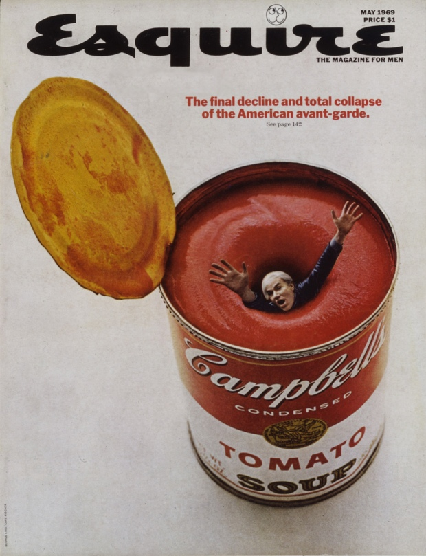 Esquire Magazine Andy Warhol