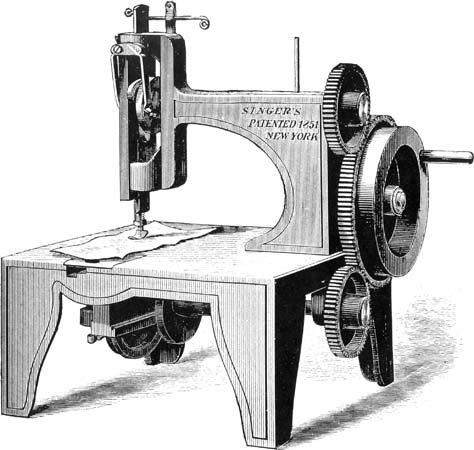 Isaac Singer Sewing Machine