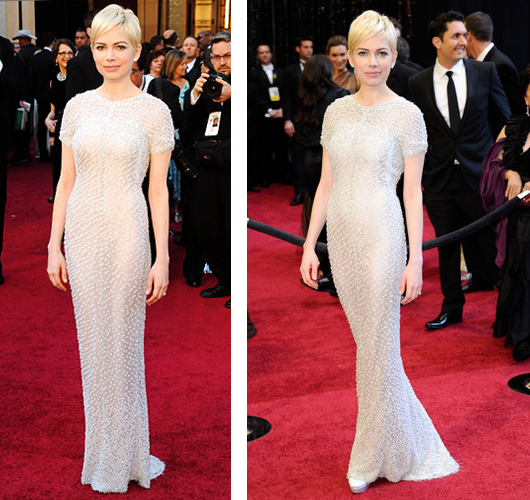 Michelle Williams Chanel Haute Couture