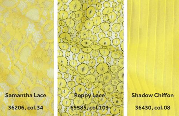 Yellow Chiffon Telio Fabrics