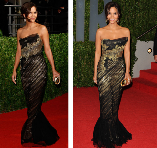 Halle Berry Vanity Fair Oscar Party
