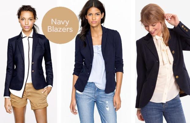 Navy Blazers