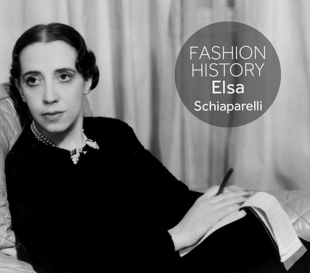 Fashion History Elsa Schiaparellis Firsts