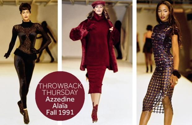 Azzedine Alaia Fall 1991