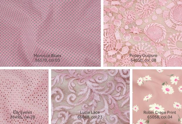 Télio's Candy Pink Fabrics