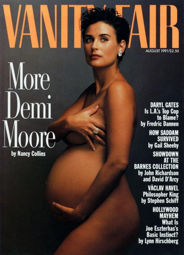 Demi Moore Annie Leibovitz