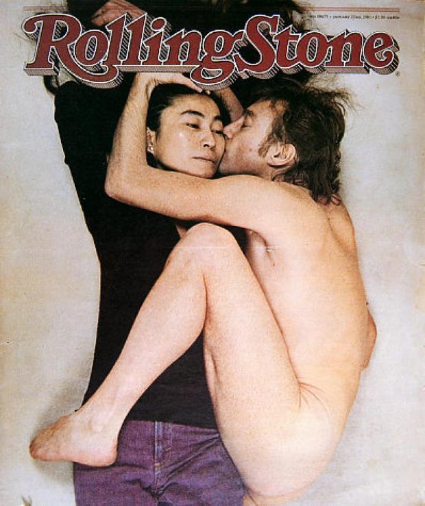John Lennon Yoko Ono Annie Leibovitz