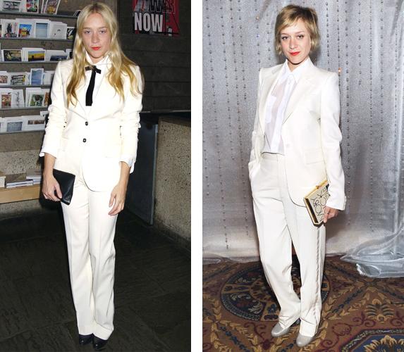 Chloe Sevigny White Suit
