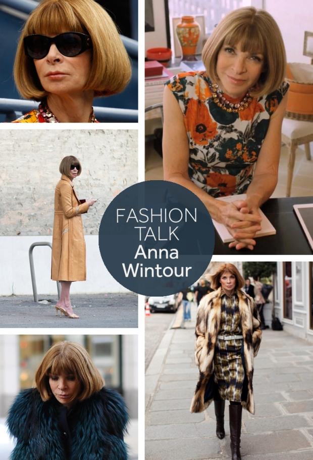 Anna Wintour Fashion Talk