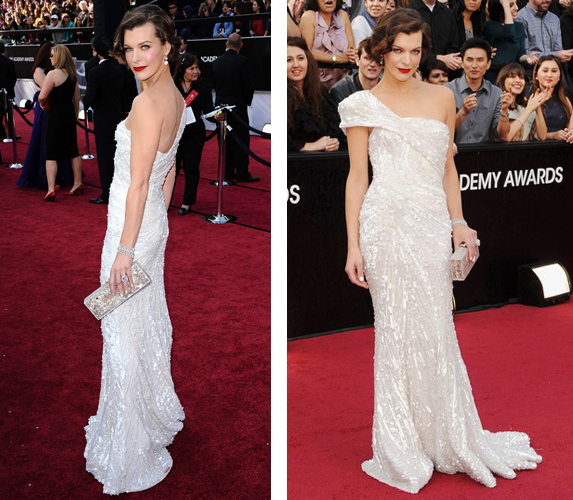 Academy Awards Milla Jovovich
