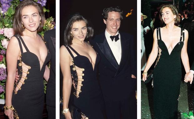 Elizabeth Hurley Gianni Versace